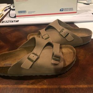 Birkenstock Zurich steer taupe 7 medium new